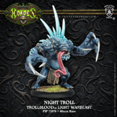 Trollblood Night Troll Light Warbeast   Plastic